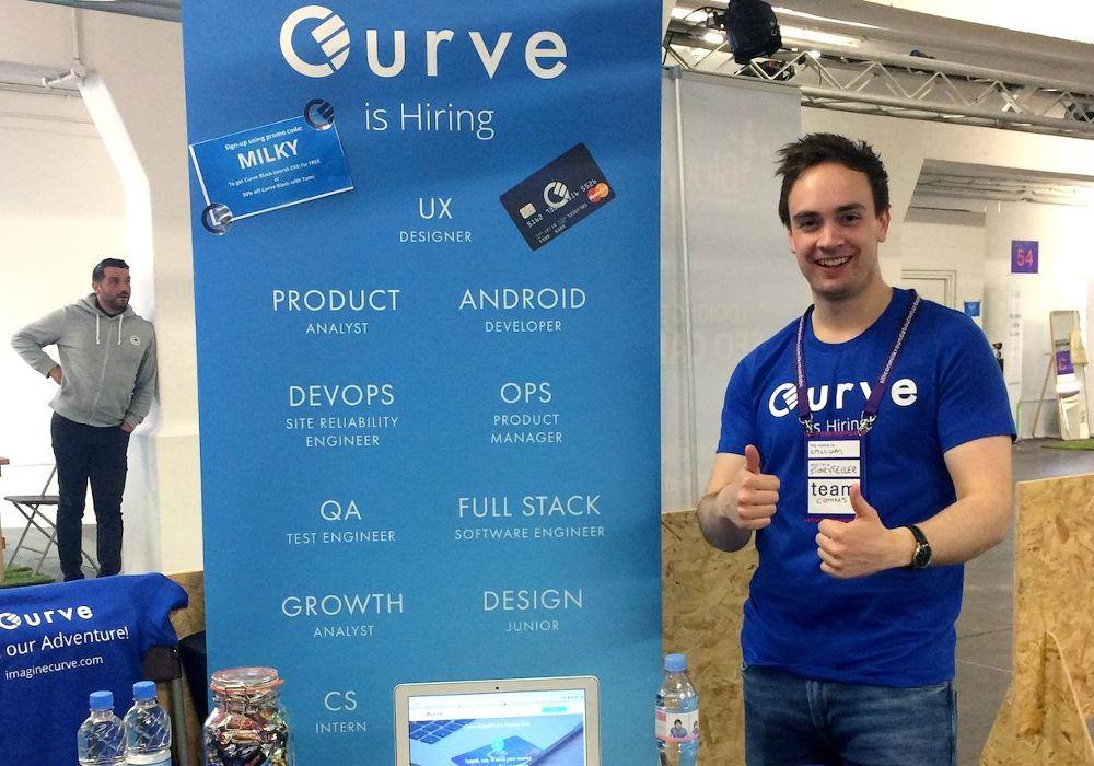 Curve startup Banking di eropa 2020